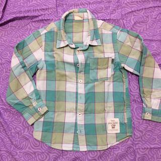 ミキハウス(mikihouse)のピクニック ミキハウス 120 ネルシャツ シャツ(ブラウス)