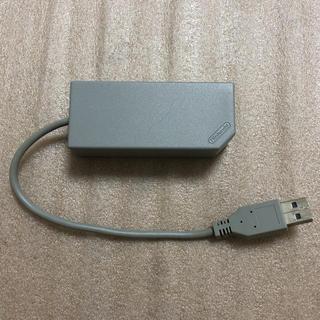 ニンテンドースイッチ(Nintendo Switch)の有線LANアダプター(任天堂純正品)(その他)