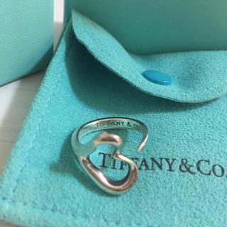 Tiffany & Co. - ティファニーオープンハート リング