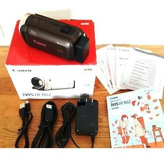 ビデオカメラ キャノン iVIS HF R62 美品