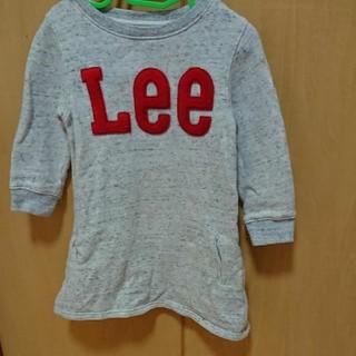 Lee - 女の子 100 ストンプスタンプ Lee スエットワンピース