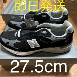 ニューバランス(New Balance)のニューバランス993 27.5センチ ブラック(スニーカー)