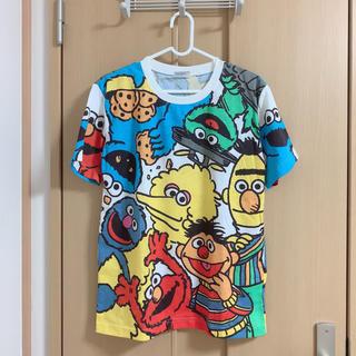 USJ - USJ セサミストリート総柄Tシャツ