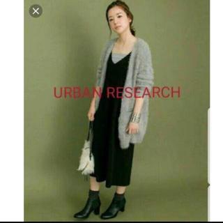 アーバンリサーチ(URBAN RESEARCH)のアーバンリサーチ 黒 オールインワン(オールインワン)