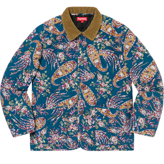 Supreme - supreme quilted paisley jacket L