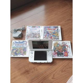 ニンテンドー3DS - new Nintendo 3DS LL パールホワイト