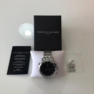トミーヒルフィガー(TOMMY HILFIGER)のトミーヒルフィガー時計 シルバー(腕時計(アナログ))