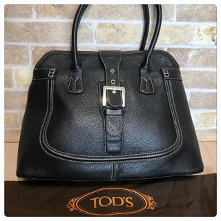 TOD'S - 《超美品》TOD'S(トッズ)ハンドバッグ