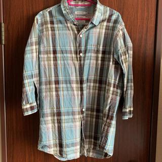 グローバルワーク(GLOBAL WORK)のGROBAL WORK 七分袖チェックシャツ(シャツ)