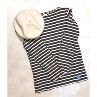ORCIVAL - フレンチバスクシャツ