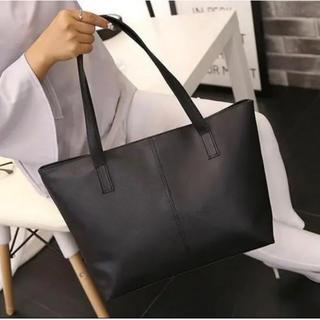 【SALE】トートバッグ ブラック 収納 A4対応 ビジネス 通学(トートバッグ)