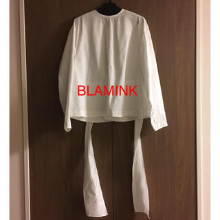 Drawer - BLAMINK ブラミンク  天使の羽 コットンブラウス ドゥロワー