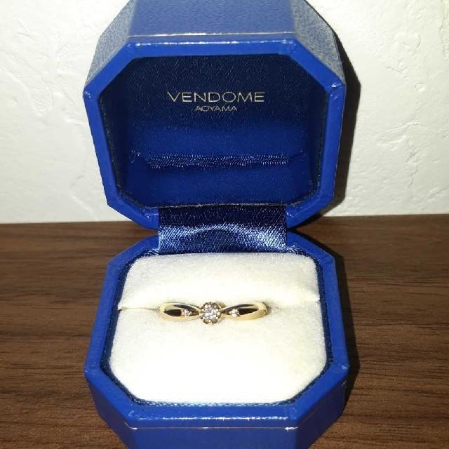 Vendome Aoyama(ヴァンドームアオヤマ)のK18リング ヴァンドーム青山 レディースのアクセサリー(リング(指輪))の商品写真