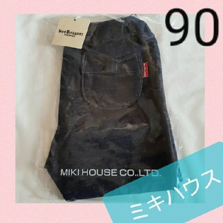 mikihouse - 新品ミキハウス★裏地も可愛いパンツ