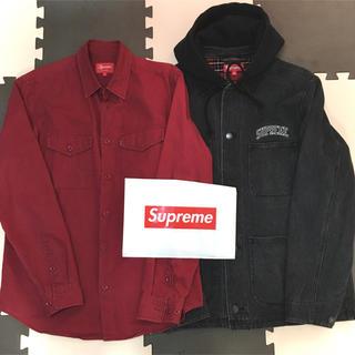 Supreme - セット 価格 supreme  デニム ジャケット シャツ パーカー  キャップ