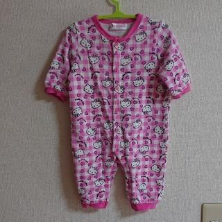 ハローキティ(ハローキティ)のロンパース Hello Kitty 70(ロンパース)