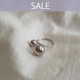 Ungrid - 【数量限定SALE】925 ballcross ring *