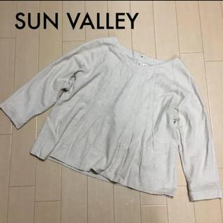 サンバレー(SUNVALLEY)のSUN VALLEY コットンリネンプルオーバー(カットソー(長袖/七分))