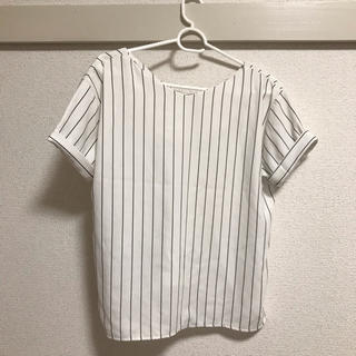 イング(INGNI)のトップス ストライプ(シャツ/ブラウス(半袖/袖なし))