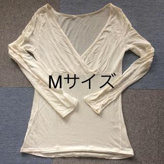 ベルメゾン - 授乳服 ベルメゾン ホットコット クロスオープン Mサイズ