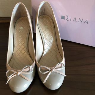 DIANA - 1回履 ダイアナ パンプス 22cm 本革 靴 ハイヒール