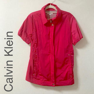 カルバンクライン(Calvin Klein)のCalvin Kiein ゴルフウェア ショッキングピンク(ウエア)