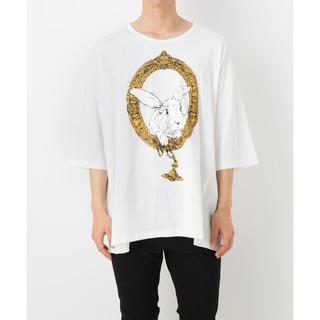 ヴィヴィアンウエストウッド(Vivienne Westwood)の🌟美品🐰バニーフレーム🐰ビッグTシャツ🔴ヴィヴィアンウエストウッド(Tシャツ/カットソー(七分/長袖))