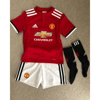 アディダス(adidas)のサッカーユニフォーム キッズ  110  靴下のおまけ付き(ウェア)