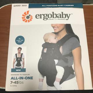 Ergobaby - ★【箱入り新品】エルゴベビー●オムニ360 クールエア●#ブラック