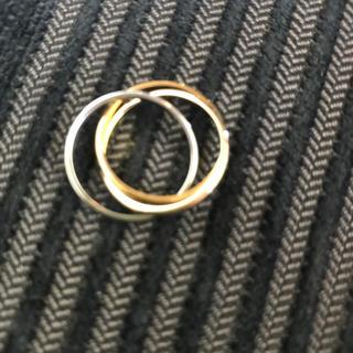 18K3連リング(リング(指輪))