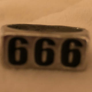 Supreme - 666リング 新品未使用 ラスト1点