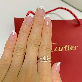 Cartier - 目玉品!20万円引ほぼ新品カルティエ確実正規品エタンセルフルダイヤリング