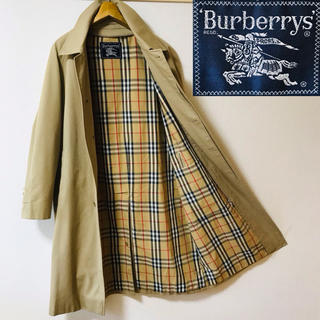 BURBERRY - 希少!BURBERRY バーバリー ノバチェック  ライナー付ステンカラーコート