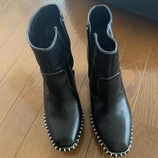 マウジー(moussy)のmoussy(wood sole boots)(ブーツ)