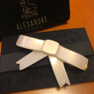 アレクサンドルドゥパリ(Alexandre de Paris)の週末値下げ アレクサンドルドゥパリ リボン バレッタ(バレッタ/ヘアクリップ)
