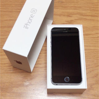 Apple - iPhonese✩スペースグレー SIMフリー
