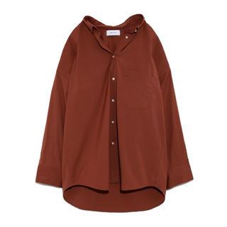 ミラオーウェン(Mila Owen)の[MilaOwen]ワイドシルエットボタンシャツ.0.BRW(シャツ/ブラウス(長袖/七分))