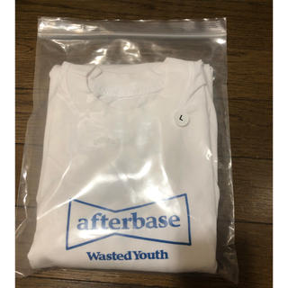 AFTERBASE - afterbase wasted youth Tシャツ L