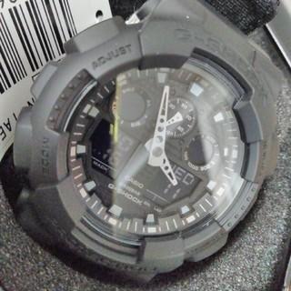 ジーショック(G-SHOCK)の【新品】CASIO G-SHOCK GA-100BBN 1AER 腕時計(腕時計(アナログ))