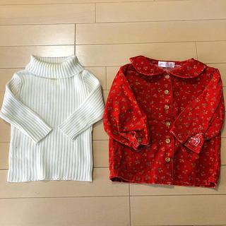 西松屋 - 2枚組 80サイズ 女の子 ベビー服