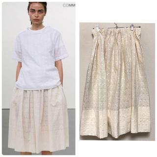 COMME des GARCONS - 2015春夏コレクション トリココムデギャルソン 刺繍 ボリュームロングスカート