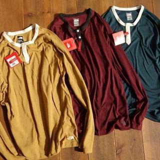 ザノースフェイス(THE NORTH FACE)の新品 18 US限定 ノースフェイス ヘンリーネック ロンT 0229-009(Tシャツ/カットソー(七分/長袖))