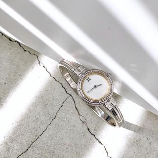 Saint Laurent - 【仕上済】サンローラン ドレスウォッチ シルバー レディース 腕時計