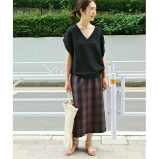 IENA - IENA ブロックチェックタイトスカート◆  ¥14,040(税込)