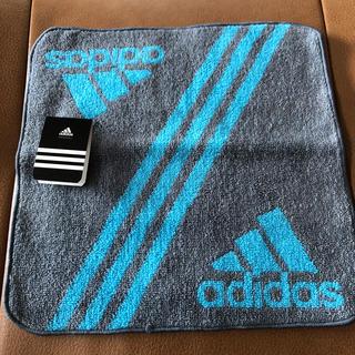 アディダス(adidas)のadidas アディダス ハンカチタオル 新品 未使用(ハンカチ/ポケットチーフ)