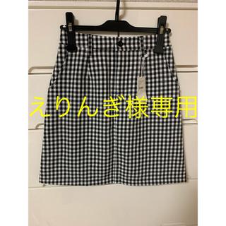 レトロガール(RETRO GIRL)のギンガムチェックタイトスカート(ミニスカート)