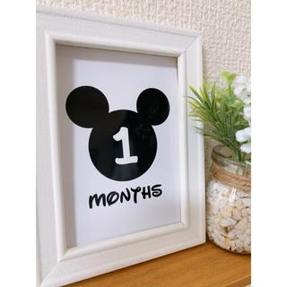Disney - 月齢カードディズニー