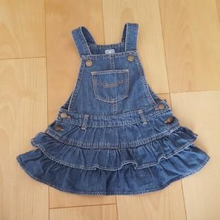 ベビーギャップ(babyGAP)のGAPデニムフリルスカート 80(スカート)