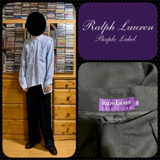 ラルフローレン(Ralph Lauren)の47 ラルフローレン パープルレーベル  ワイドスラックス(スラックス)