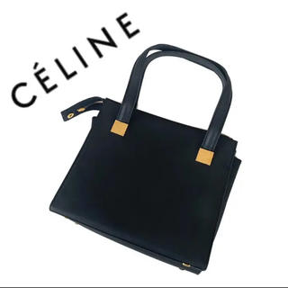 celine - celine セリーヌ ハンドバッグ  冠婚葬祭 フォーマル ブラック 黒